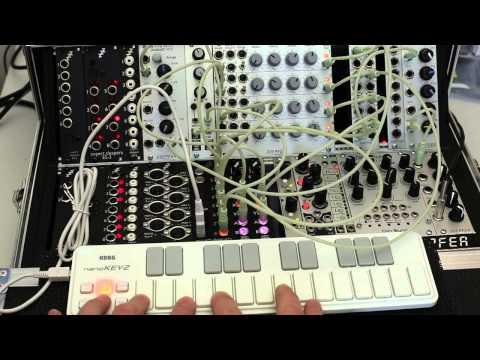 Expert Sleepers FH-1 / Korg nanoKEY polyphony