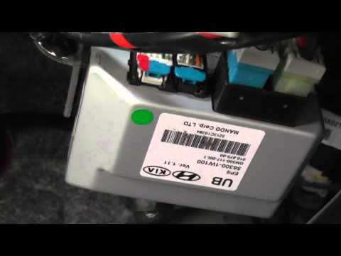 2014       Kia    Rio EPS Module  Electronic Power Steering   YouTube