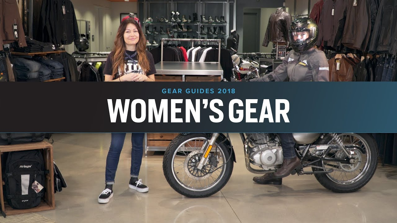 f225d52e655 Best Women s Motorcycle Gear 2018 at RevZilla.com - YouTube