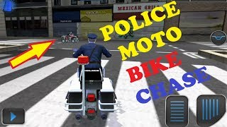 Police Moto Bike Chase Android Game