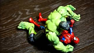 Spider Man Action new Series episode Spider-man vs Hulk FIGHT