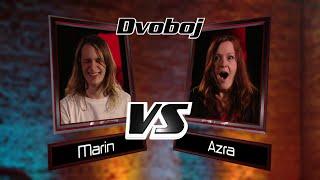 "Marin vs. Azra: ""One"" - The Voice of Croatia - Season1 - Battle3"