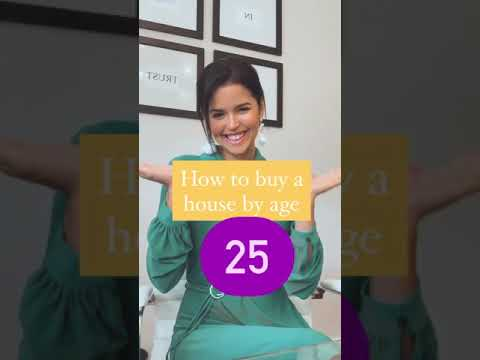 How to buy a house by age 25