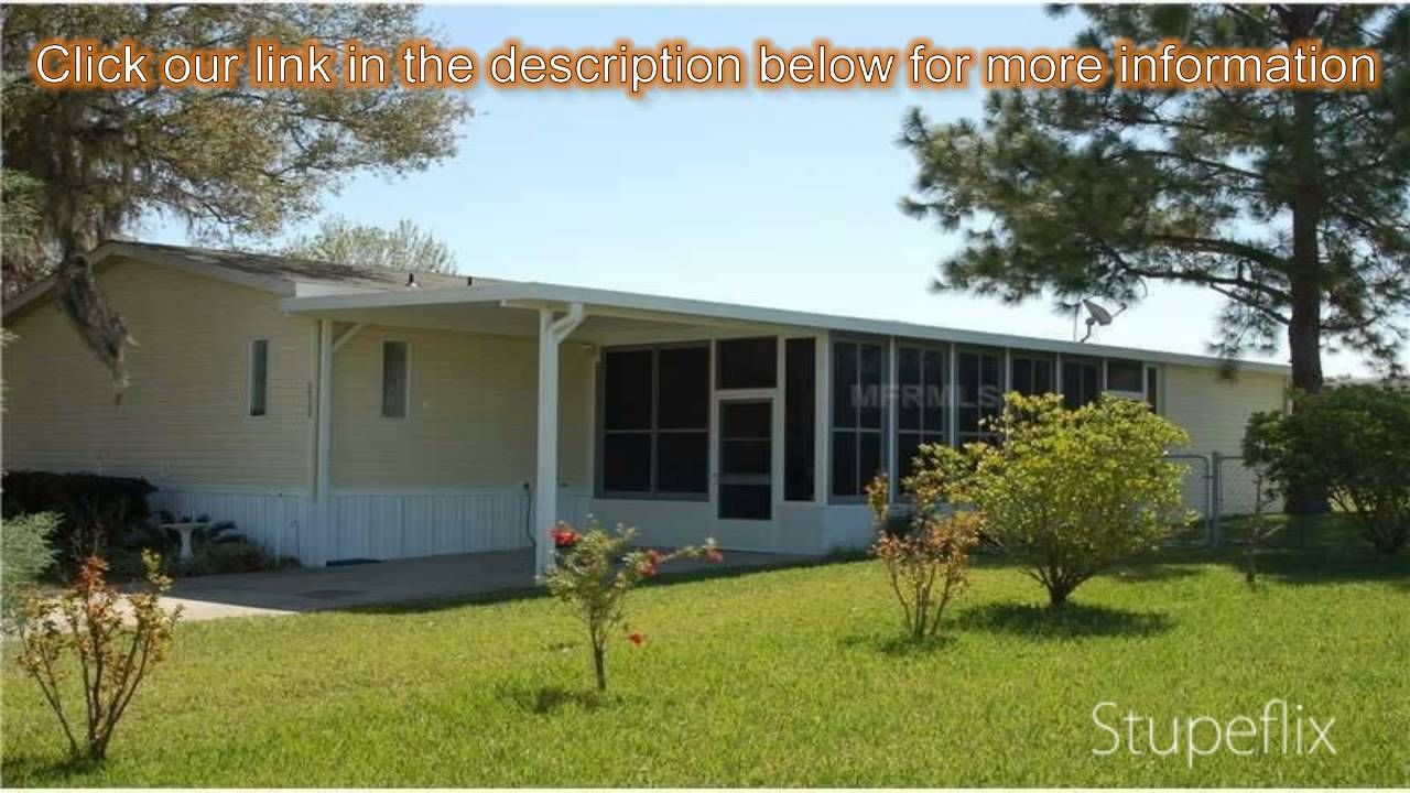 3 bed 2 bath manufactured mobile home for sale in astatula