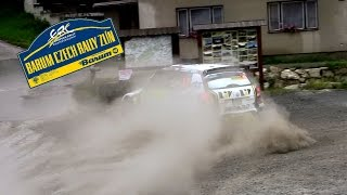 Vid�o Barum Czech Rally Zl�n 2014 action HD