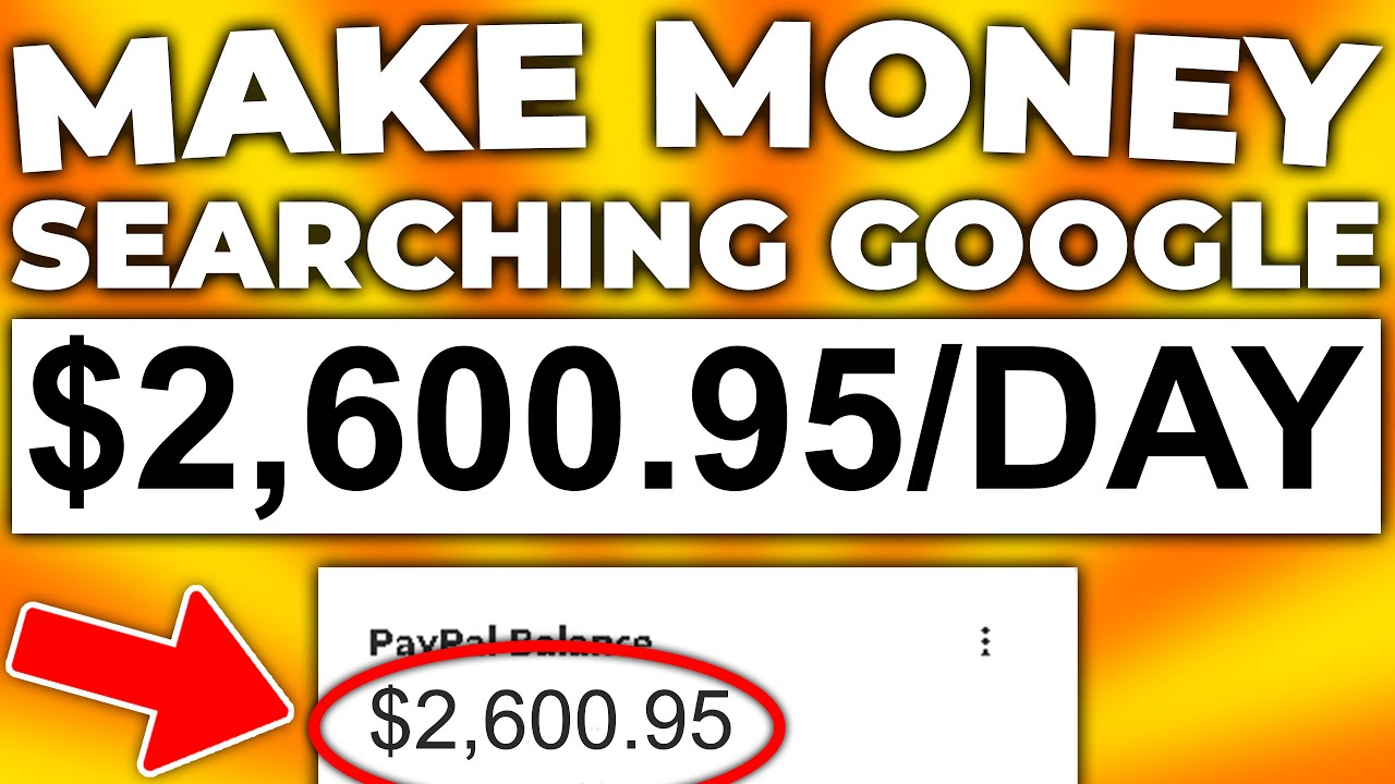 Download Earn $2000+ A Day With Google (COPY & PASTE FOR FREE) Make Money Online 2021