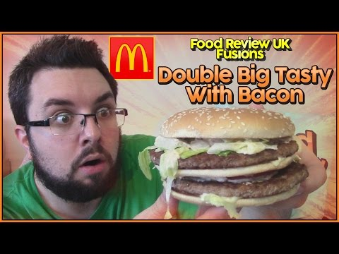 McDonald's Double Big Tasty With Bacon Review