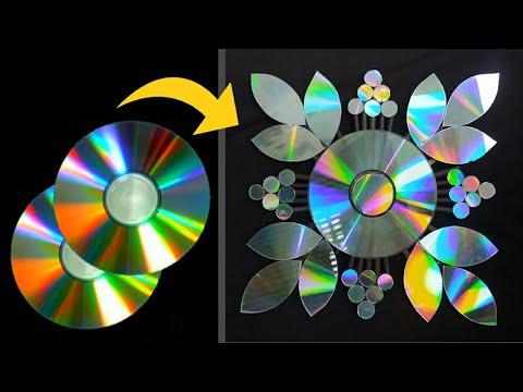 diy-home-decorations-ideas-by-old-cd-||-weast-cd-tutorial-home-decor-ideas-||-newidea20-art-ideas