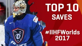 Top 10 Saves | #IIHFWorlds 2017