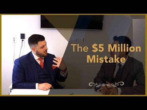 Real Estate Interview - The $5 Million Mistake - Financial Planner Perspective
