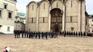 видео Развод конных и пеших караулов Президентского полка 2017