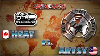 vuclip HeAt VS Artsy | Daily Beatbox Battle ( 2015-09-20 )