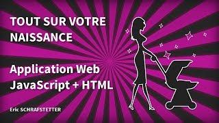 Tout sur votre naissance - Programmation amusante en HTML et JavaScript