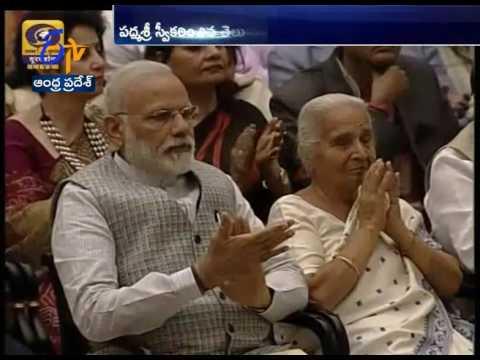 Padma Awards | Presented by President Pranab Mukherjee