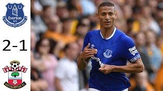 Everton Vs Southampton 2-1   Premier League   Match Preview 18/08/18 HD