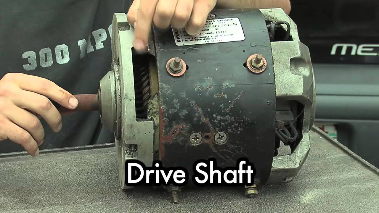 Diy Electric Car 04a Dc Motor Basics Part 1 Youtube