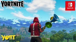Fortnite for SWITCH! - Squads and Solos! Come and join me!