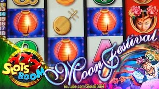 MOON FESTIVAL BONUSES on 5c Aristocrat Video Slot