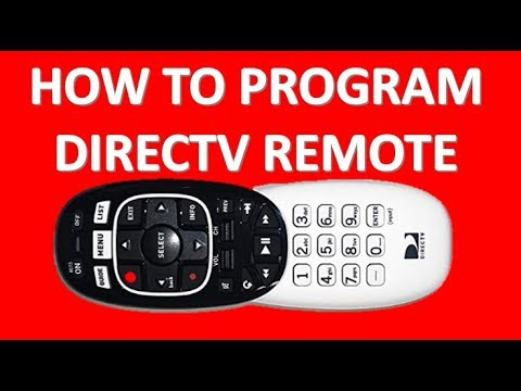 HOW TO PROGRAM DIRECTV REMOTE GENIE RECEIVER AND REMOTE TO TV Code 961