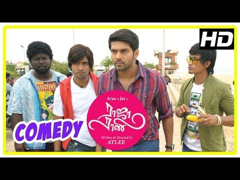 Raja Rani Tamil Movie Comedy Scenes | Part 2 | Arya | Santhanam | Nayanthara | Nazriya | Jai | Atlee