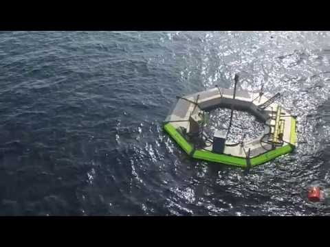 Seatricity Wave Hub Installation 2016
