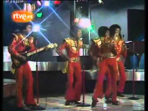 The Jacksons performing