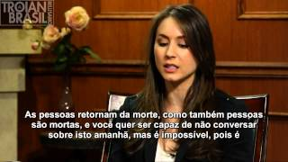[LEGENDADO] Troian Bellisario on 'Larry King Now - Part 1