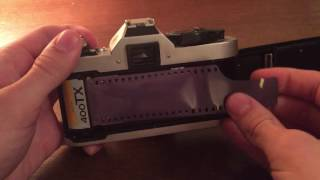 Loading Film into Canon AE-1 Program