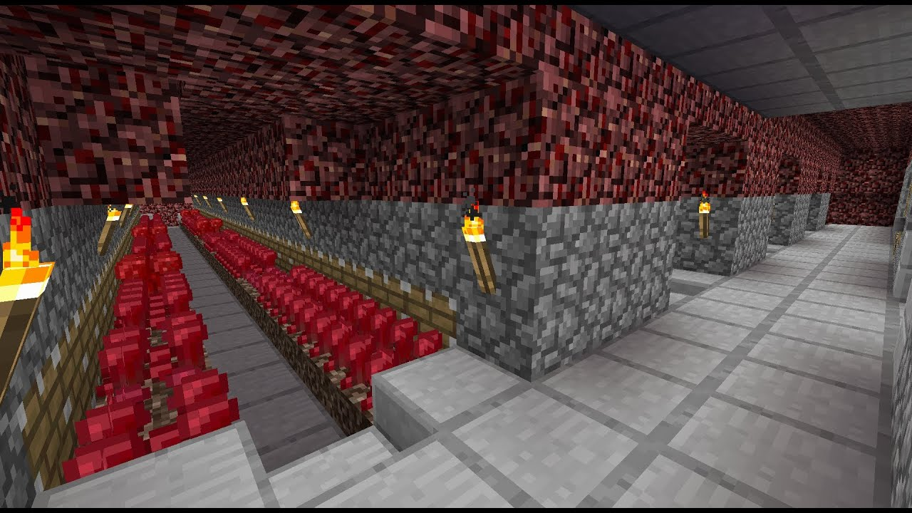 Minecraft Nether Wart Farm YouTube
