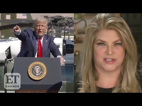 Kirstie Alley explains why she supports Trump's reelection