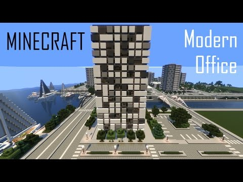 Minecraft Modern Office Building Full Interior Videos Make Your Own Beautiful  HD Wallpapers, Images Over 1000+ [ralydesign.ml]