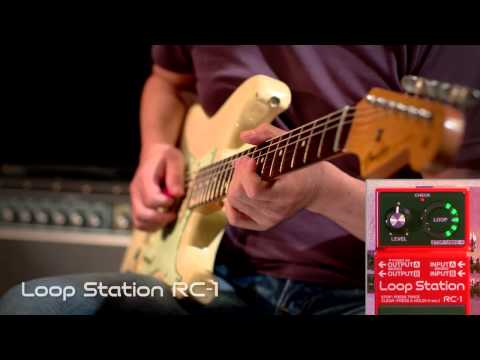 RC-1 Loop Station Demonstration [BOSS Sound Check]