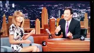 Jimmy Fallon talks too much, called out by - Taylor Swift Video