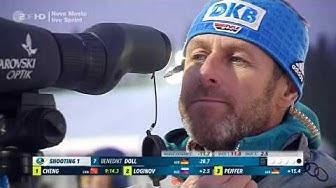Biathlon 2020 in Nove Mesto - Sprint der Männer - Komplettes Rennen - Freitag, dem 06.03.2020