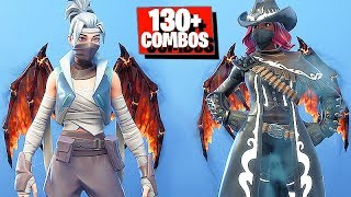 Molten Valkyrie Wings Fortnite (Lava Legends Pack Back Bling) with 130+ Skins & Styles Combos