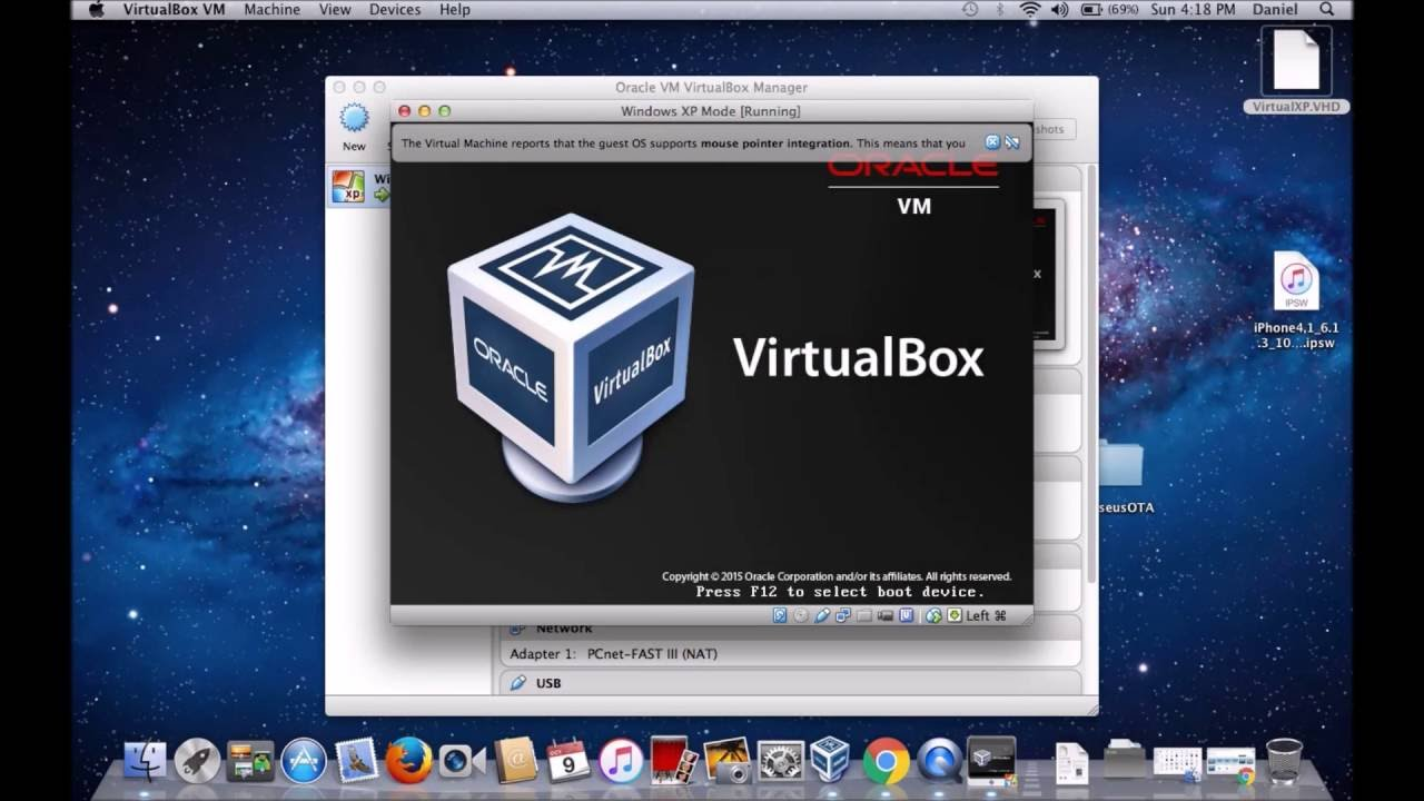 VirtualBox binaries