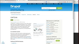 Configuring CAPTCHA Anti-Spam on Drupal 7