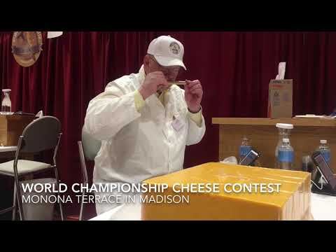 World Championship Cheese Contest returns to Wisconsin to