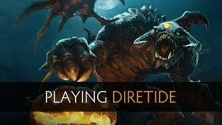 Dota 2 - Playing Diretide /w SUNSfan, Reaves, Xeno, Neil & Sajedene