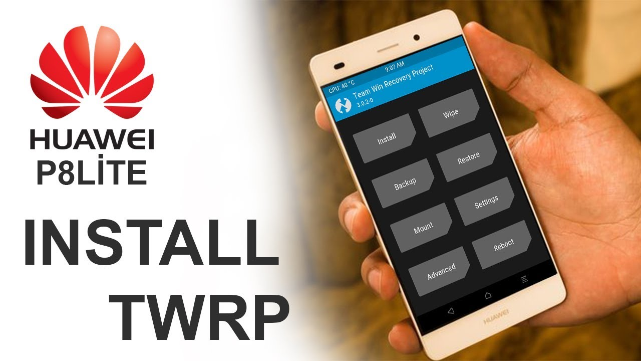 How To TWRP & ROOT for Marshmallow | HUAWEI P8 LITE (New Version)