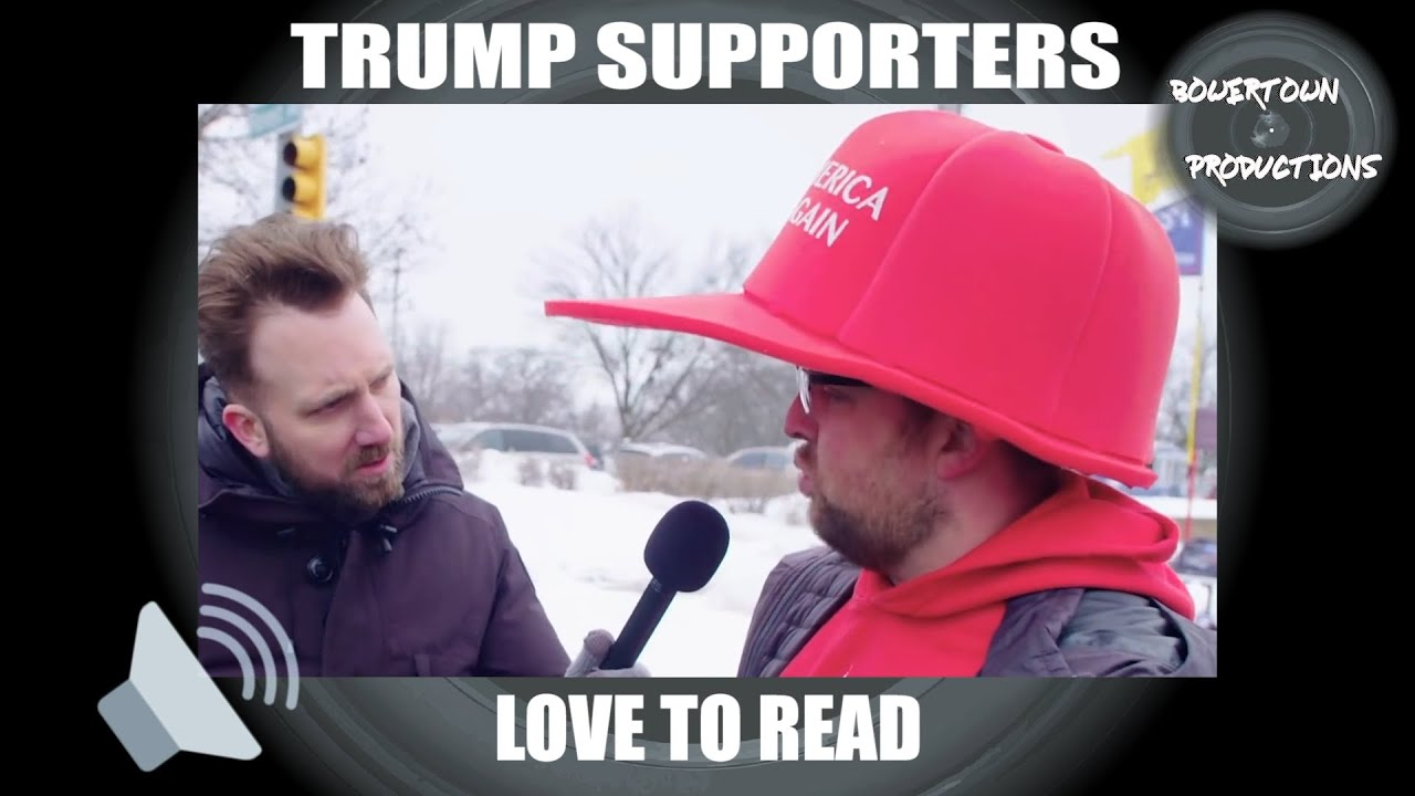 Download Trump supporters love to read