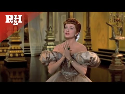 "Yul Brynner and Deborah Kerr perform ""Shall We Dance"""