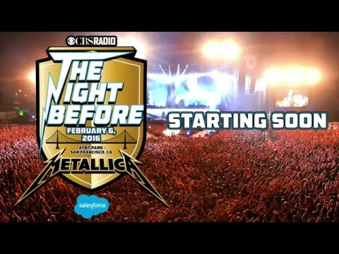 Metallica׃ The Night Before   Live from AT&T Park, San Francisco, CA [FULL CONCERT]