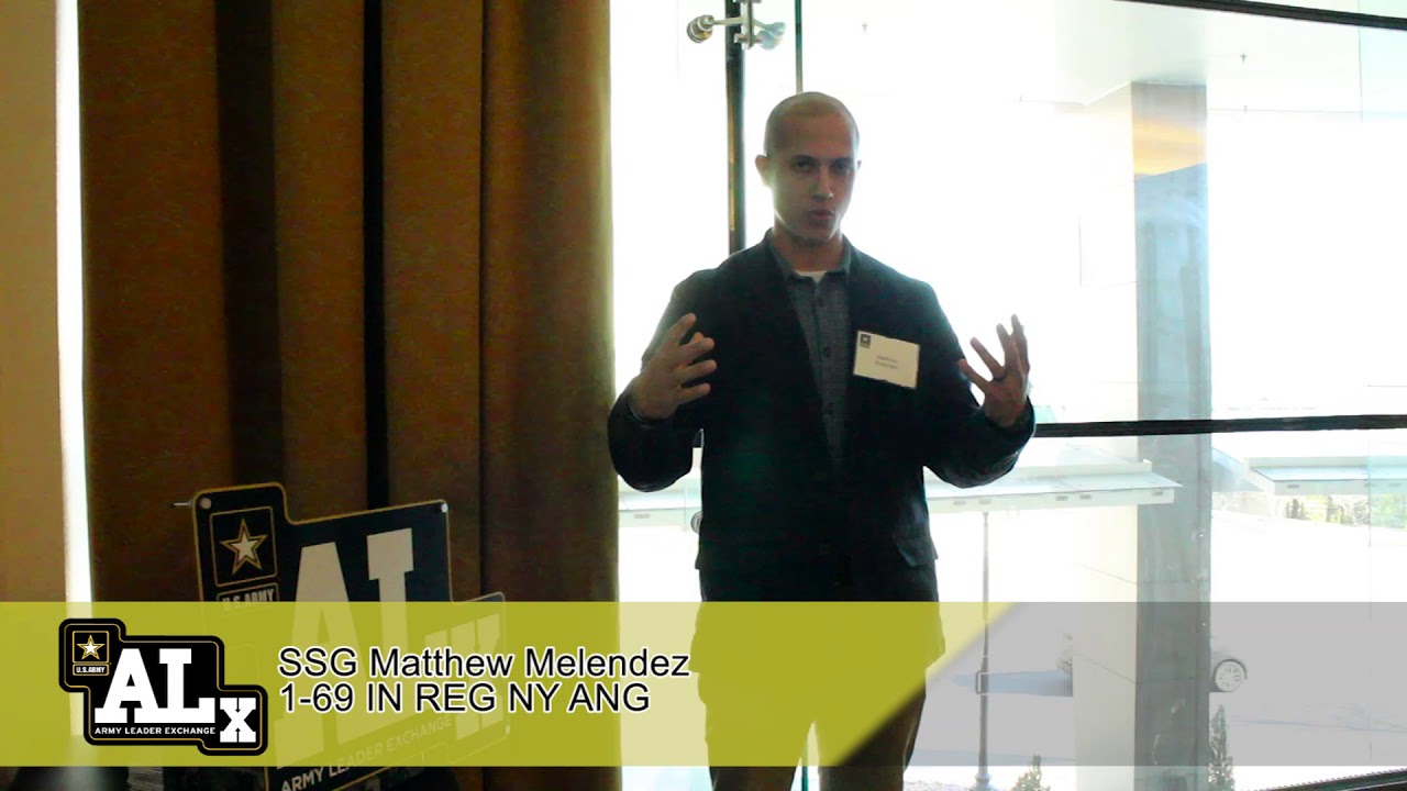 Army Profession Forum 2019: SSG Matthew Melendez