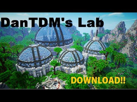 Minecraft   DanTDM's Lab   w/ Download