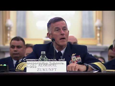 Sen. Cruz at Commerce Hearing on State of the Coast Guard