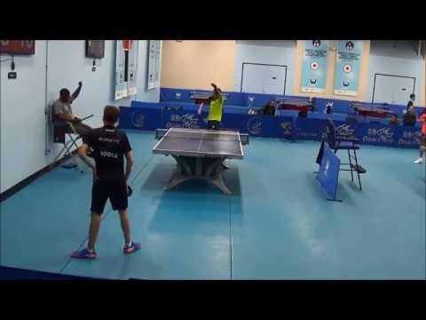 Westchester Table Tennis Center October 2017 Open Singles Semi Final Match - Bottom Half of Draw