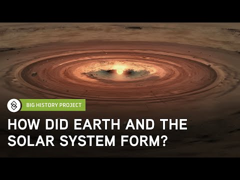 How Did Earth and the Solar System Form? | Big History Project