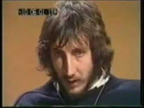 PETE TOWNSHEND 1972 INTERVIEW