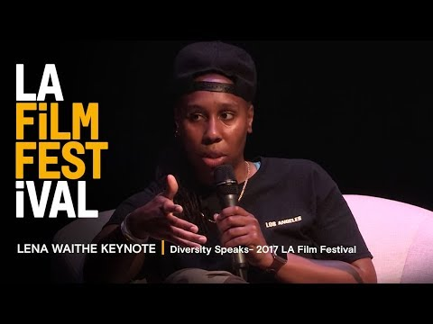 LENA WAITHE KEYNOTE | Diversity Speaks - 2017 LA Film Festival ...